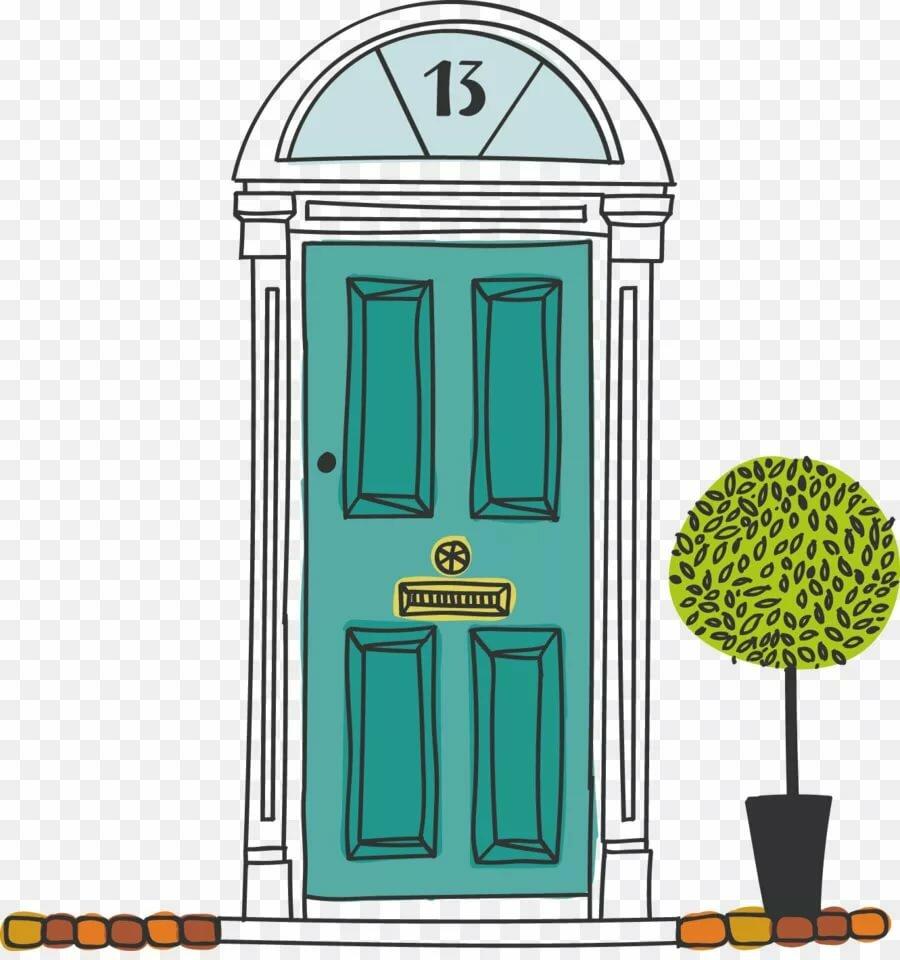 Картинки дверей в векторе