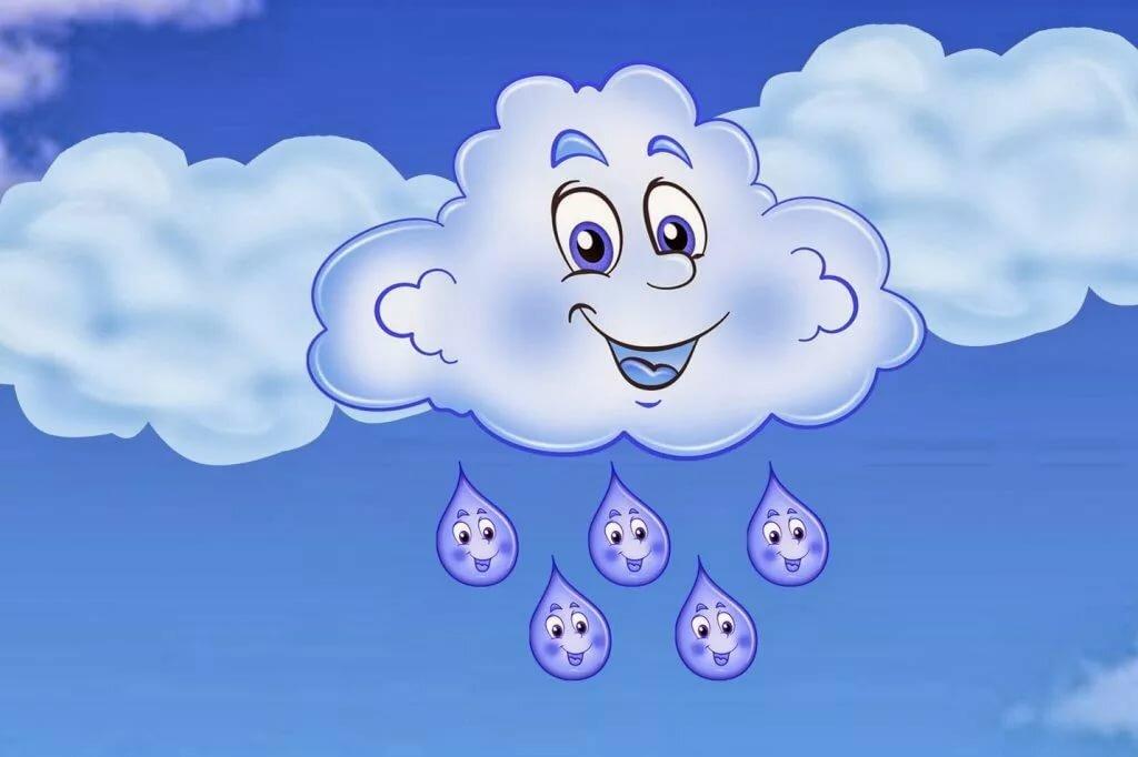 Облака детская картинка