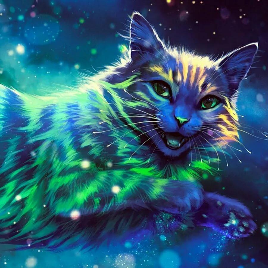 красивые картинки котов фэнтези чередует