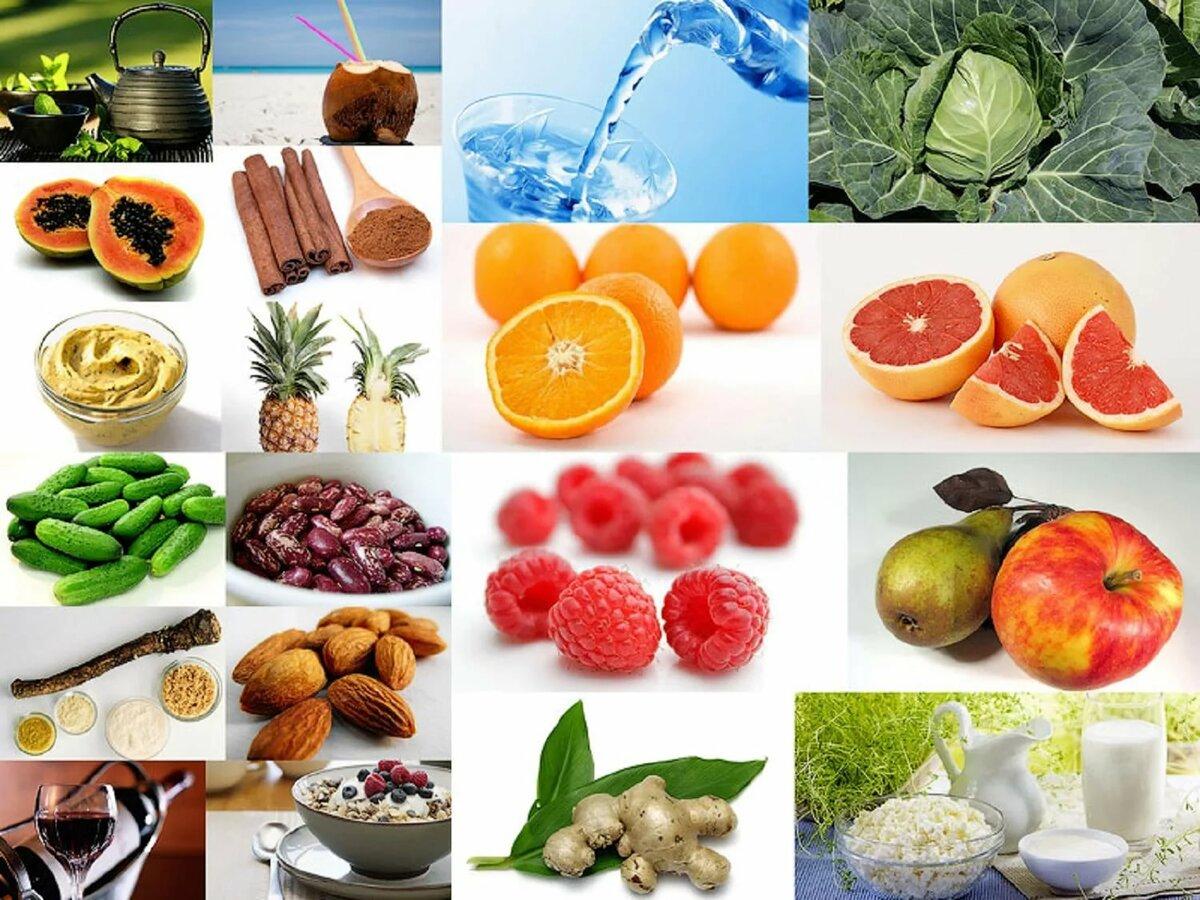 Продукты полезные на диете