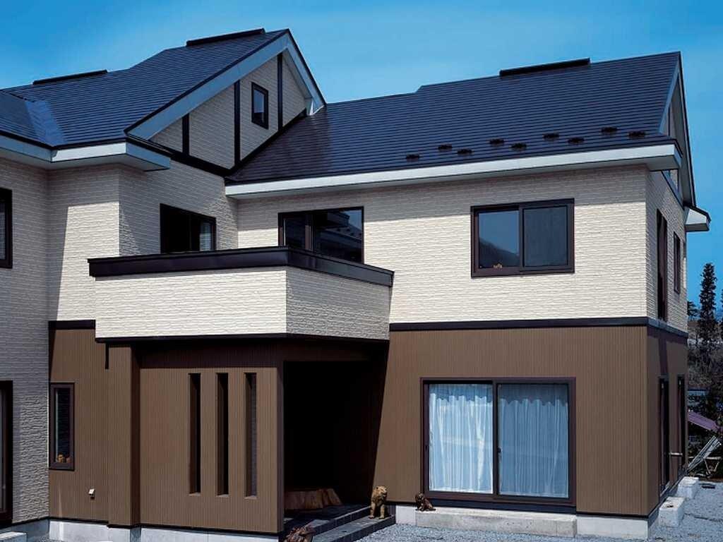 Картинка фасад дома из панелей