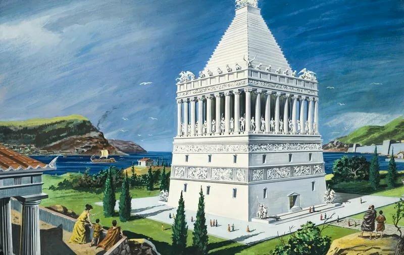 Галикарнасский мавзолей в картинках