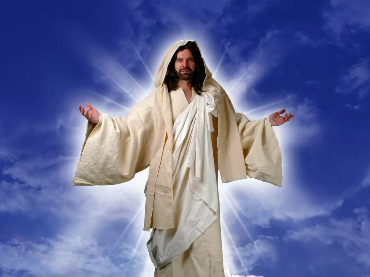 наносят картинки на рабочий стол иисус перемешать