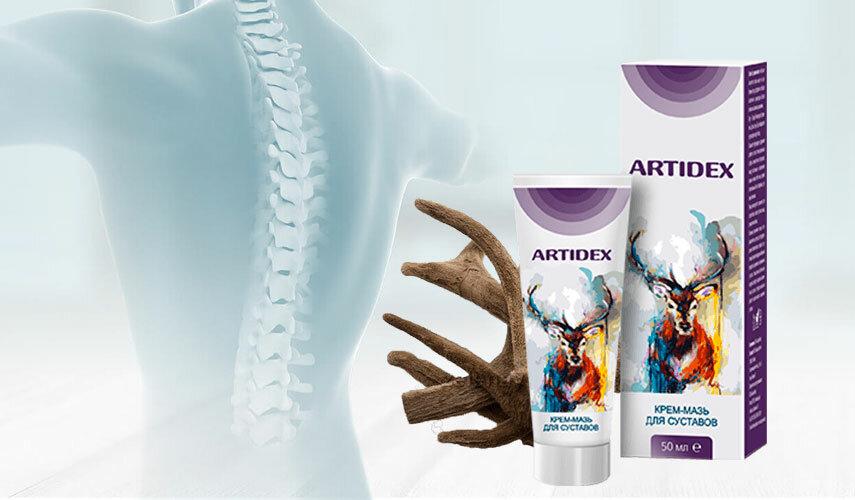 Artidex - крем-мазь для суставов в Сочи