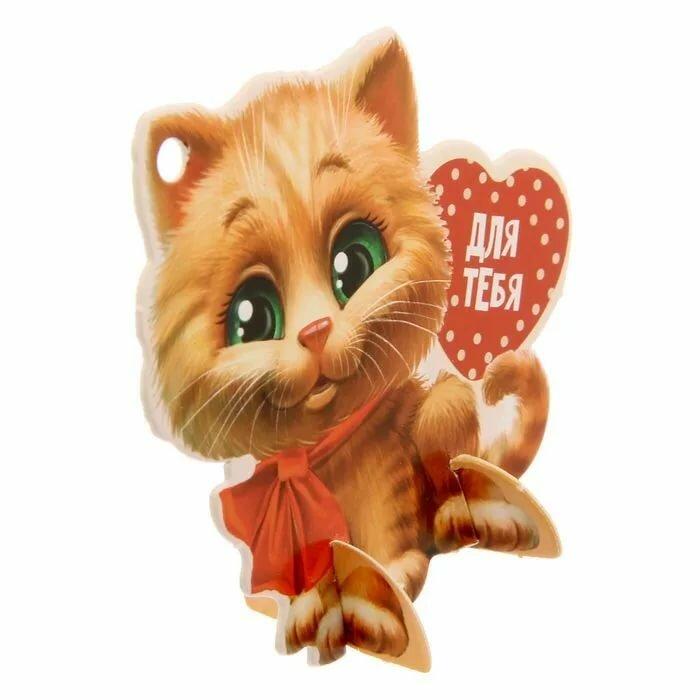 Любимая кошечка открытка