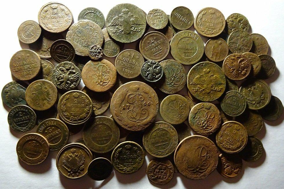 Картинки медных монеток