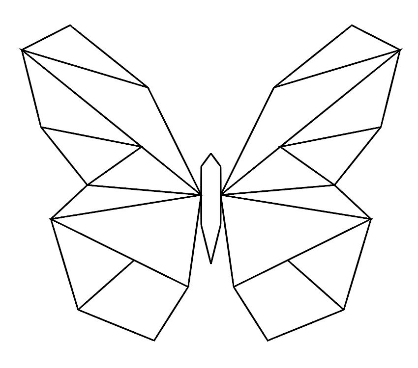 симметрия картинки с линиями приготовлении рагу