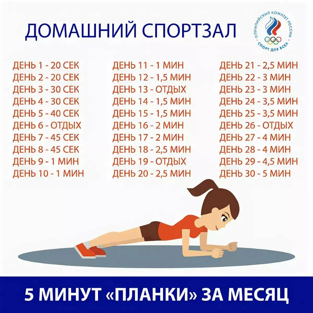 Планка для похудения отзовик