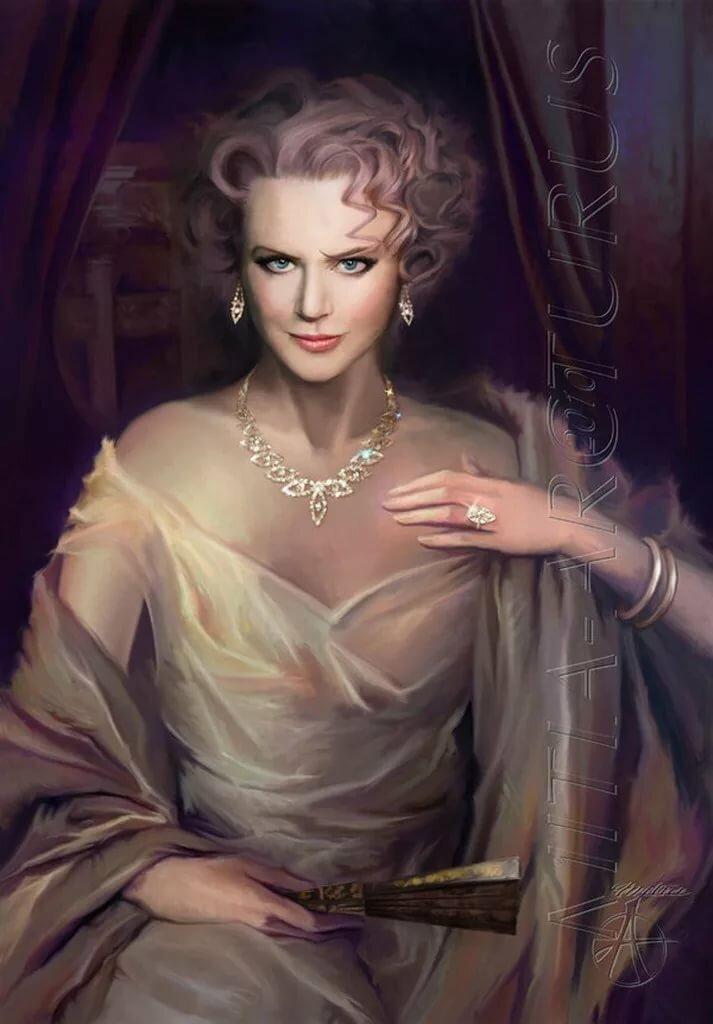 Картинка благородная дама