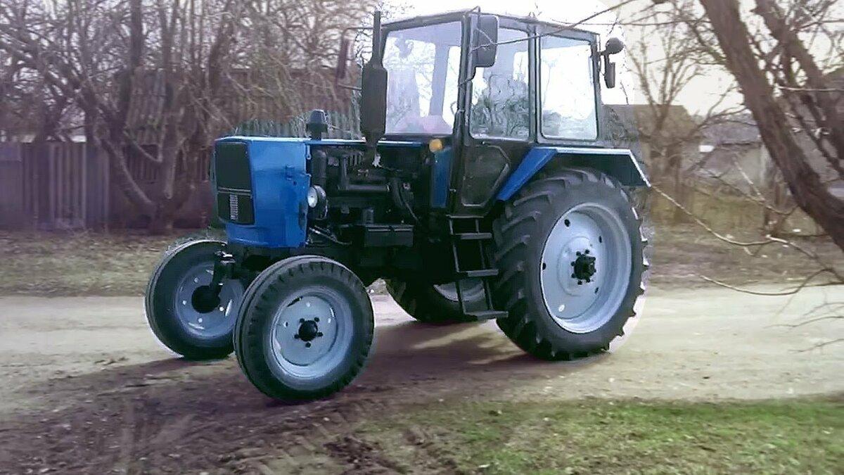 клип про трактор - 6