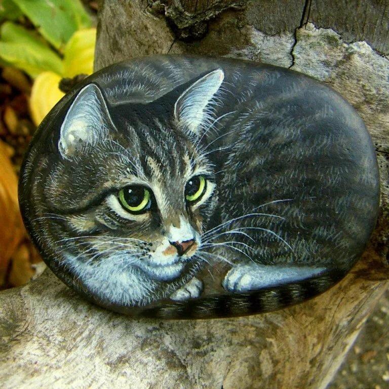 Рисунки на камне фото