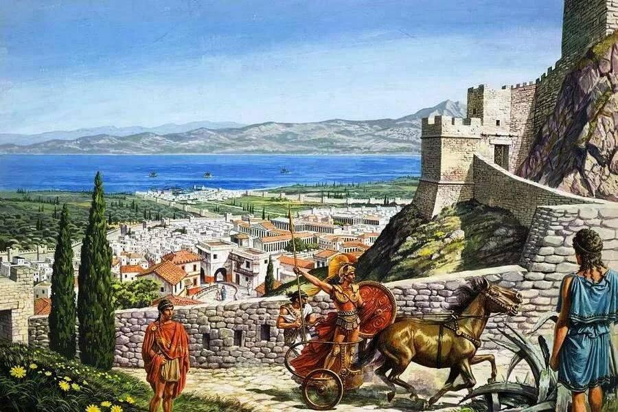 применения древнегреческий город картинки мере
