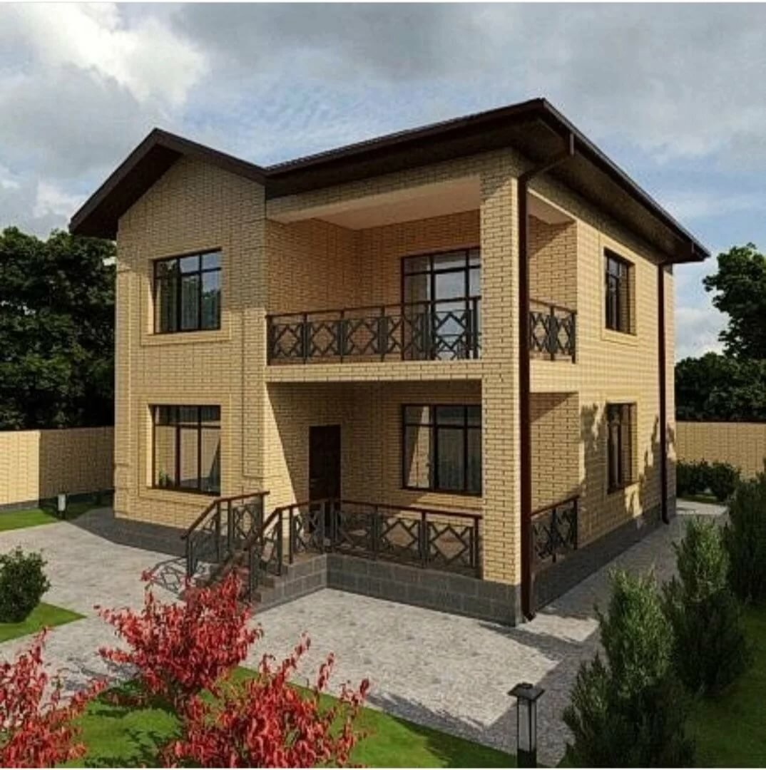 узнаем, коттеджи с балконами фото эта модель идеально