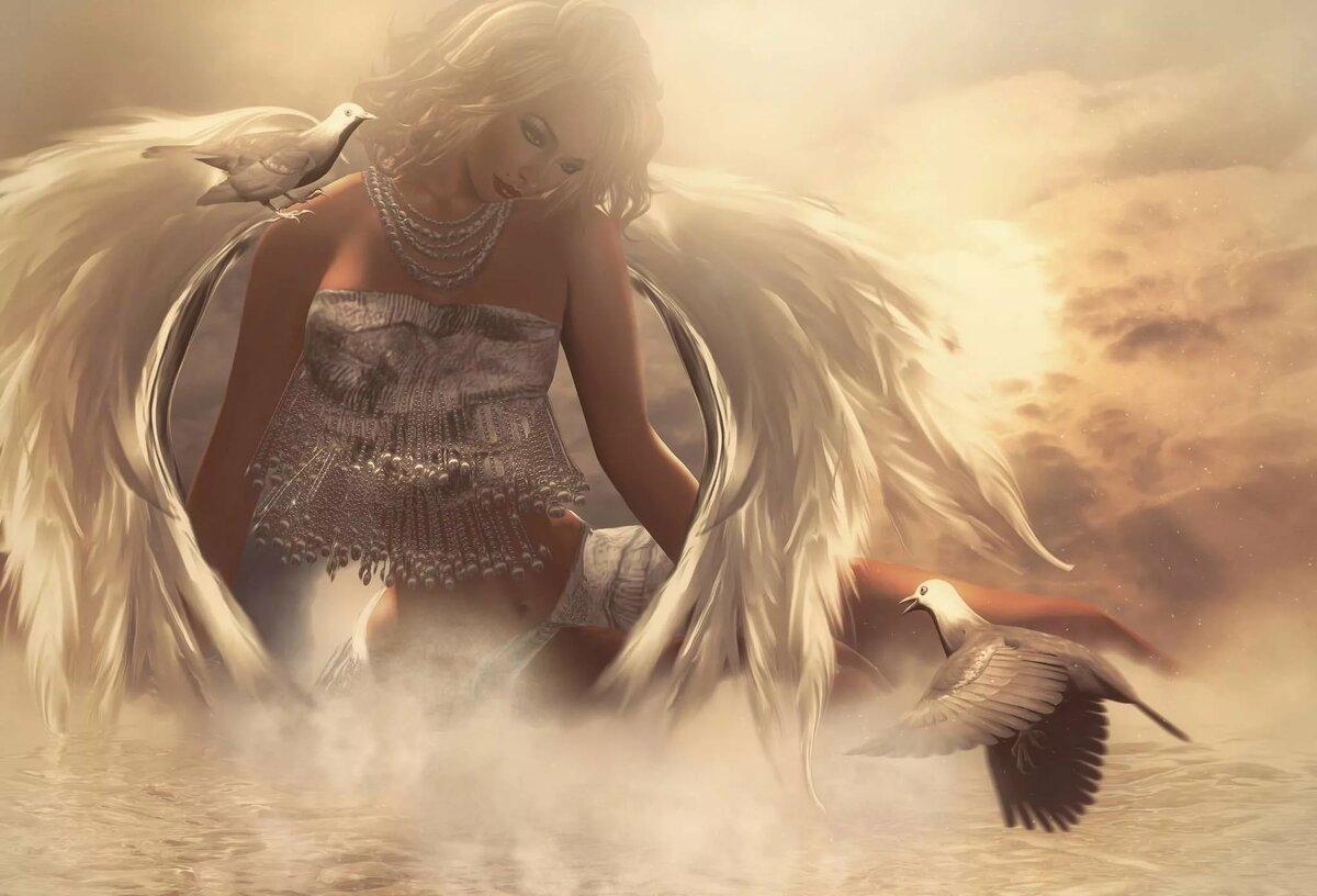 Картинки красивая девушка ангел