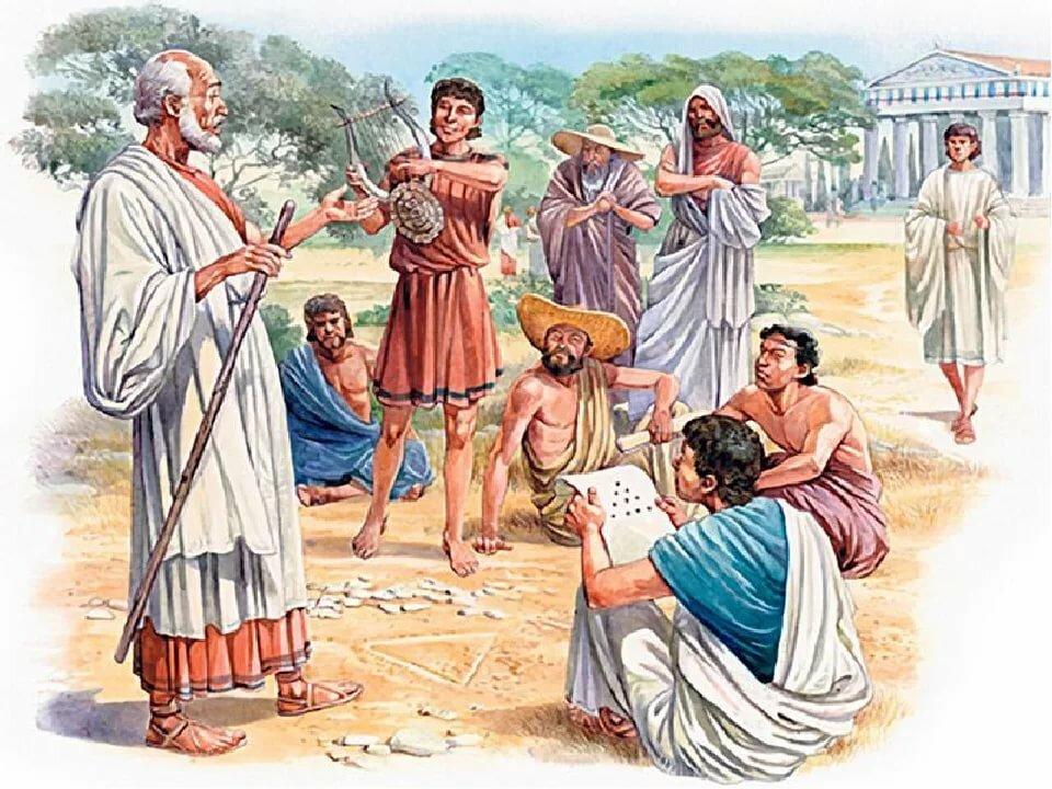 картинка древний грек одним самых