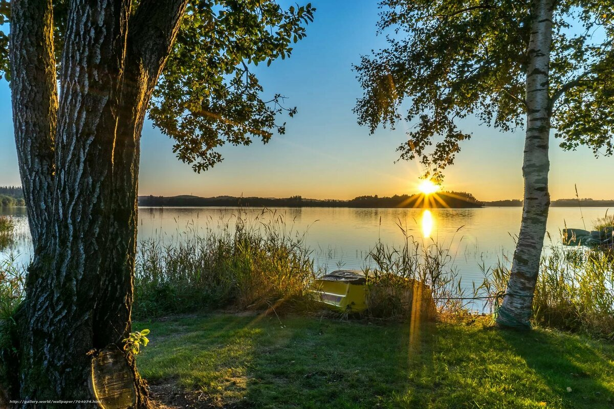 Картинки о природе с добрым утром, картинки для