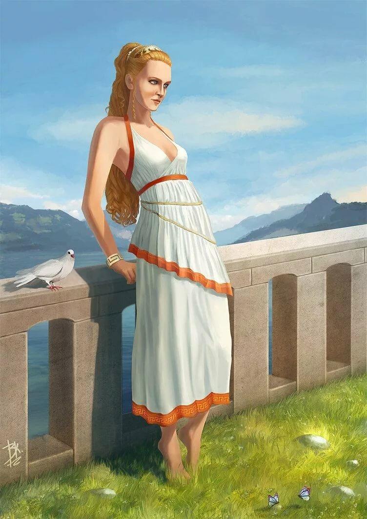 Картинки девушек в древней греции