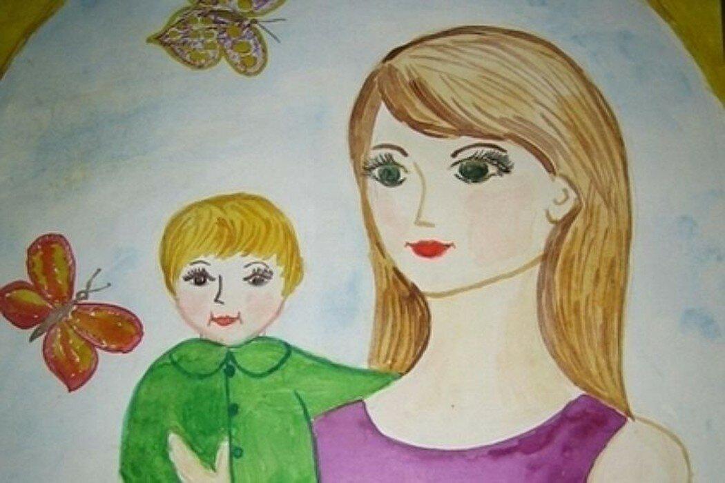 Картинки, рисунок с днем матери 11 лет