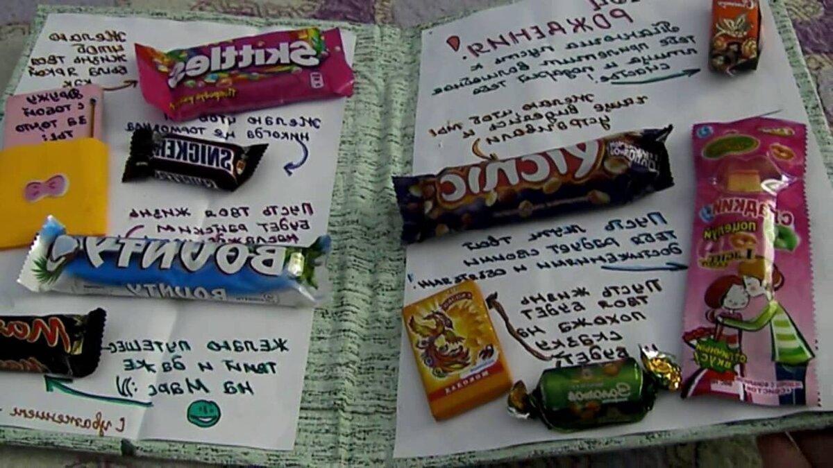 Поздравление с днем рождения связанное со сладостями