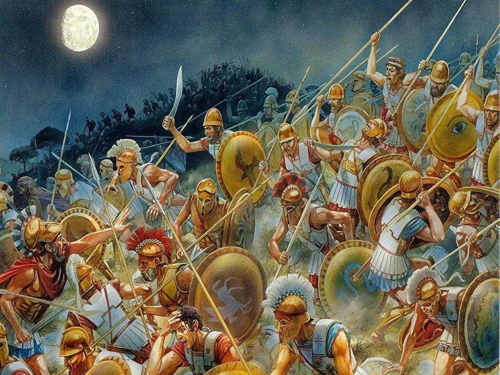 mir-srazheniy-v-drevnosti-militsii-foto