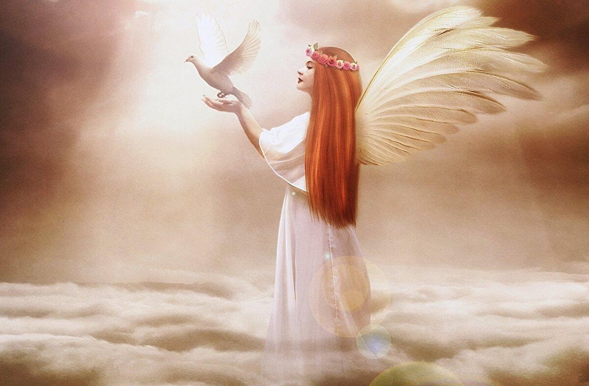 Открытки прабабушка, картинка ангела