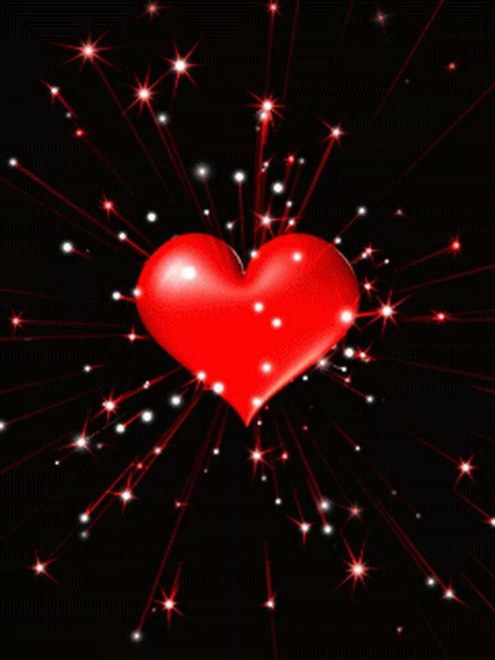Картинки сердечки анимация сердечки