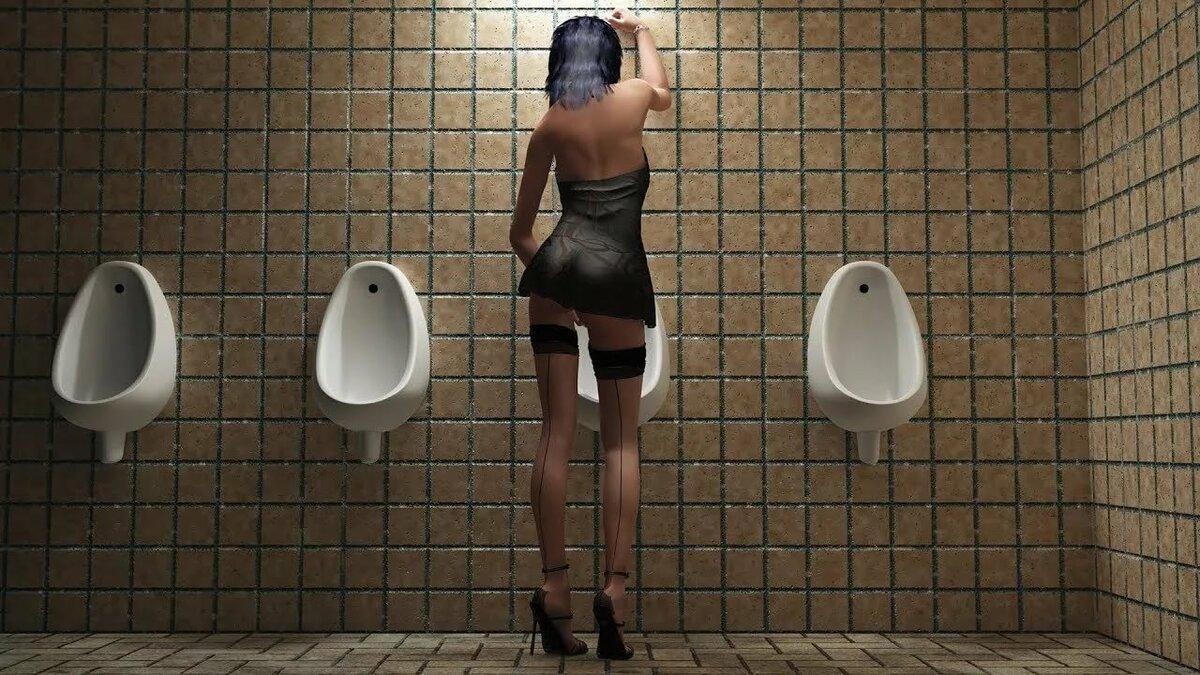 фото мужчины рабы-туалет у женщин - 2