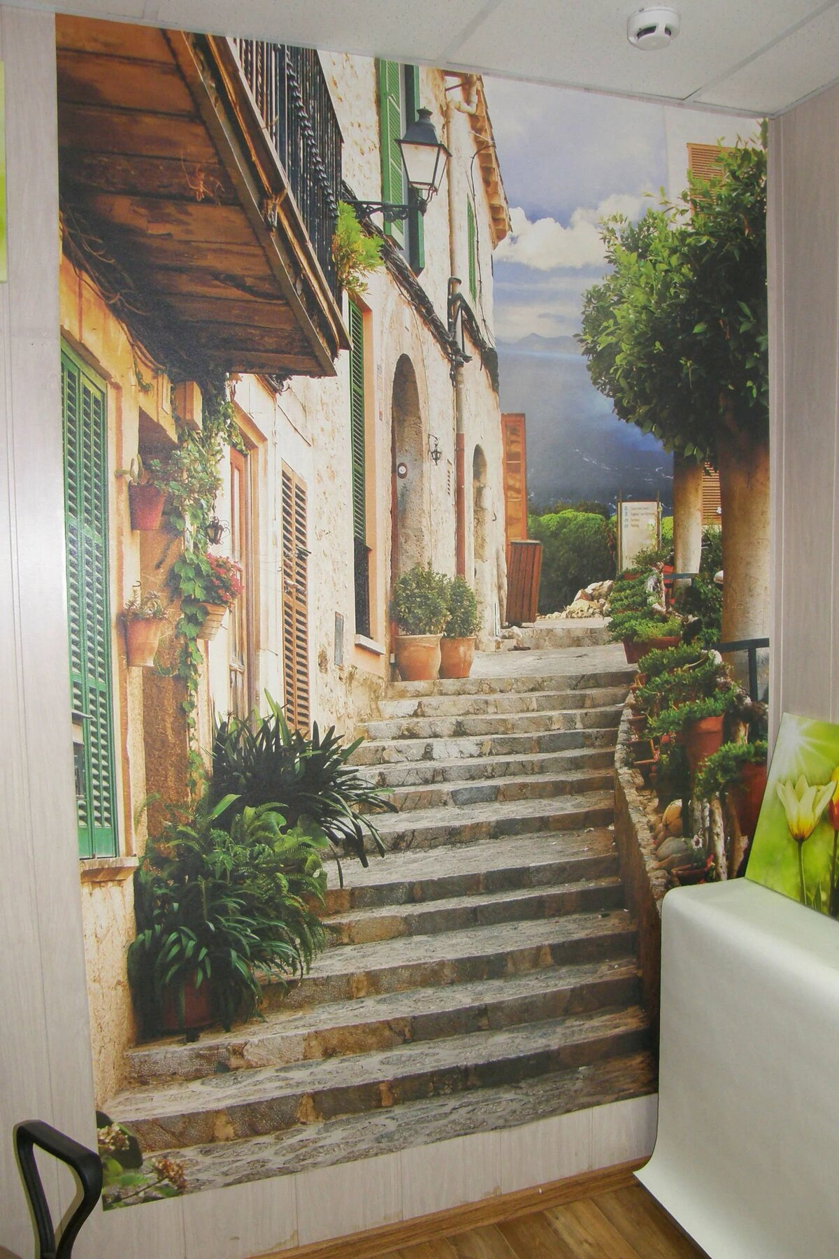 Фотопечать на стене модные идеи для гостиной крышки
