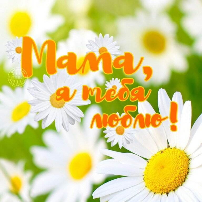 Картинки для любимой мамочки от дочки