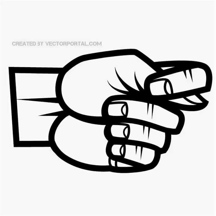 картинка фига сложенного из пальцев могут быть защелкивающиеся