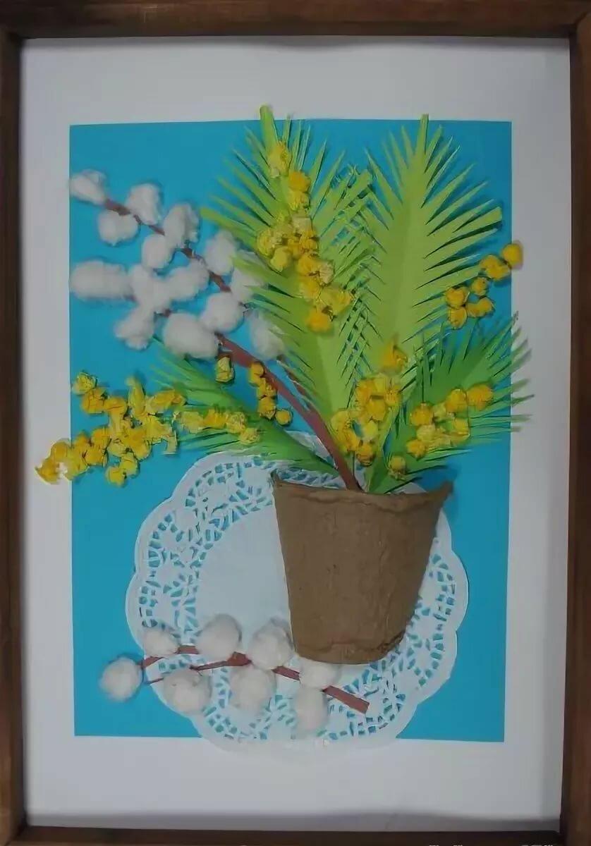 Картинки, открытки своими руками на вербное воскресенье