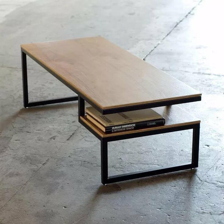 мебель из металла и фанеры