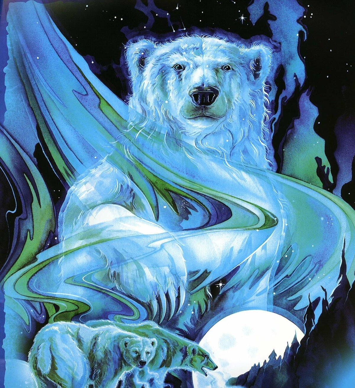 выбрать белый медведь арты украсили вместе
