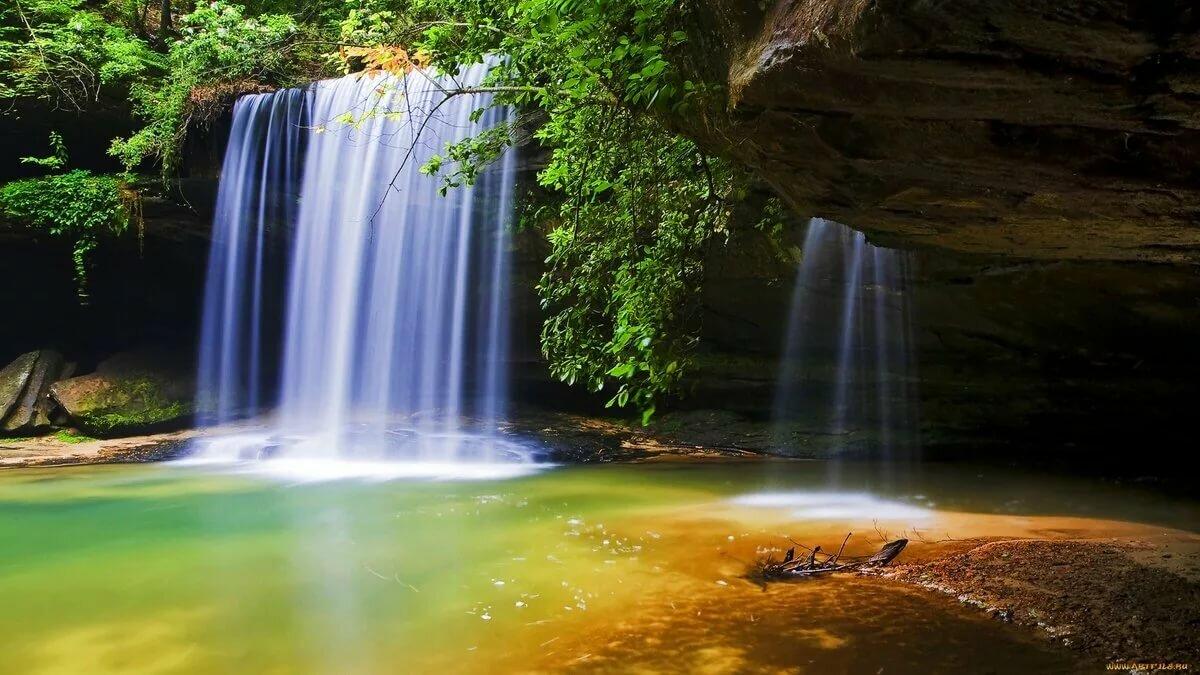 Картинки на рабочий стол красивые природа водопады