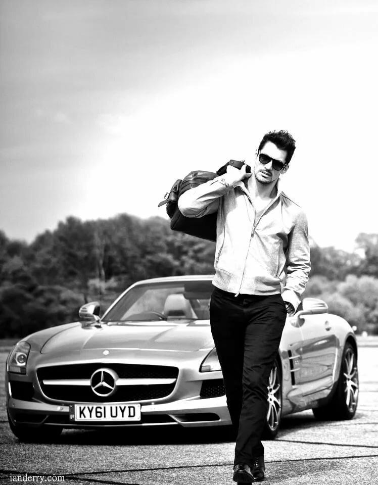 фотосессия с машиной идеи фото мужчины