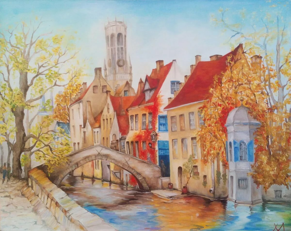Картинки рисунок города