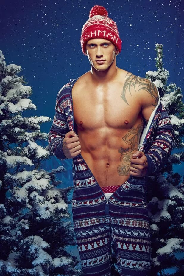 Sexy men christmas pictures
