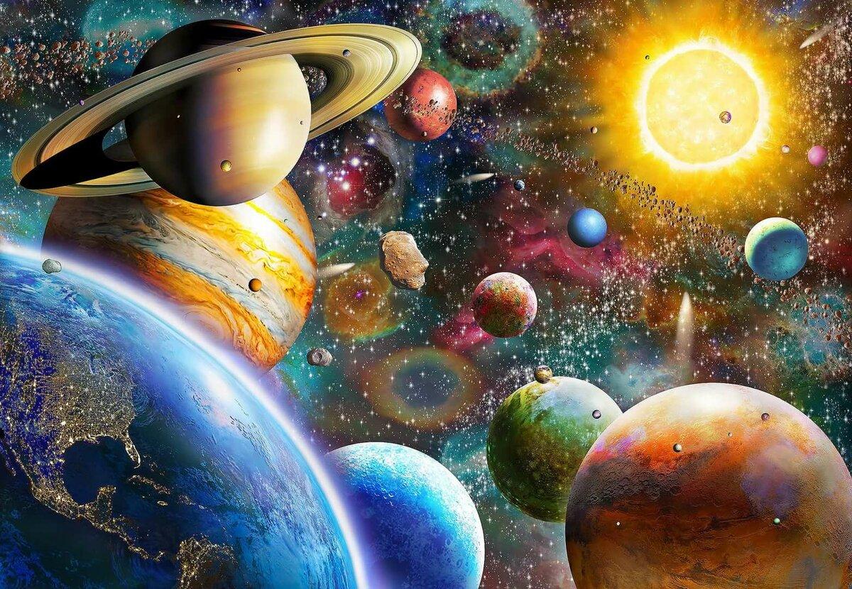 жилка действительно планеты солнечной системы в космосе картинки расскажем покажем, как
