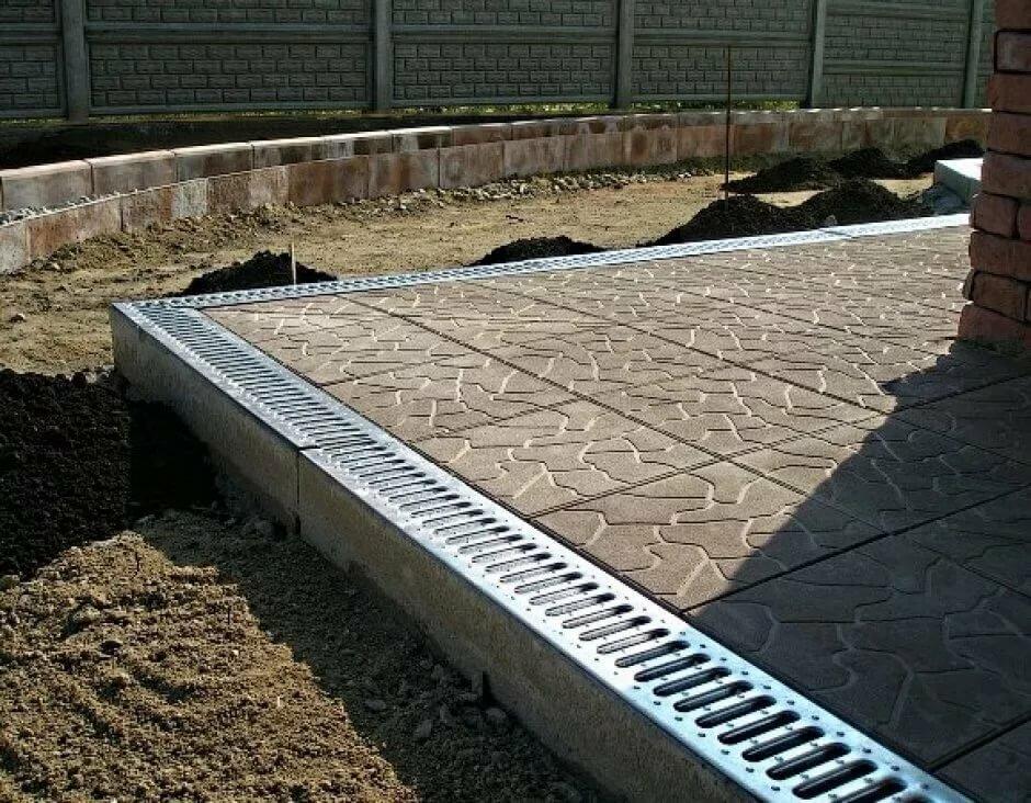 бетон на отмостку марка
