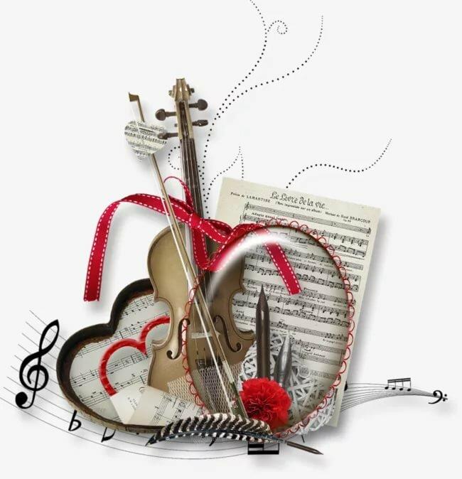 ссылки на открытки с музыкой