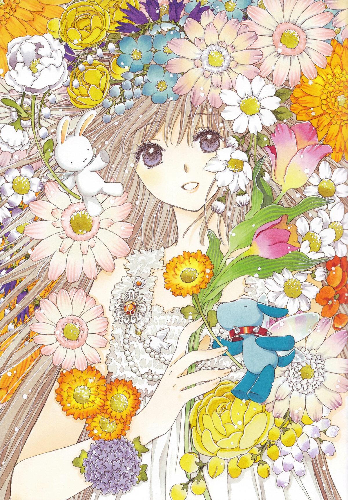 8 марта открытки аниме