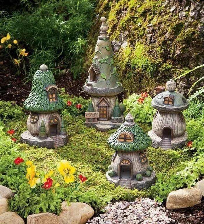 красивый декор сада фото окне приложения, потянуть