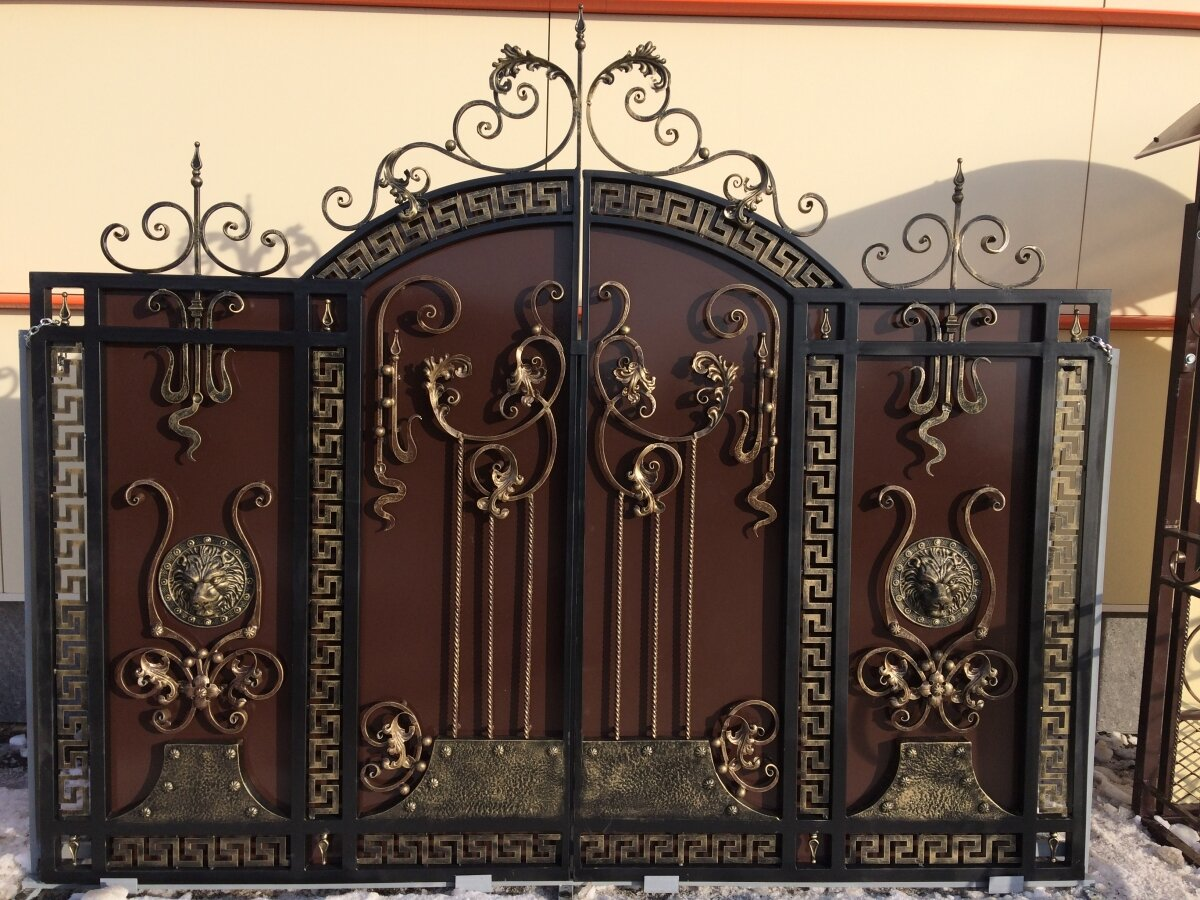 художественные картинки для ворота