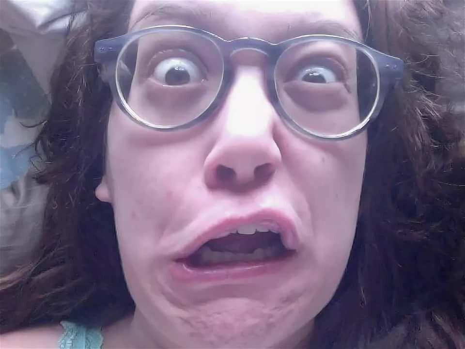 Страшные смешные девушки фото