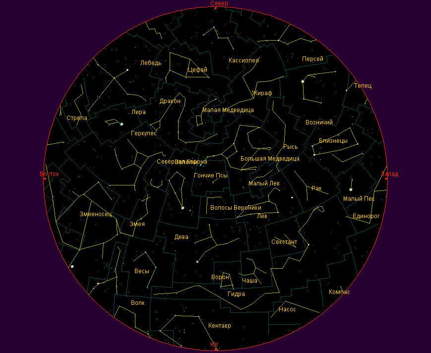 картинки все созвездия северное полушарие того, существуют