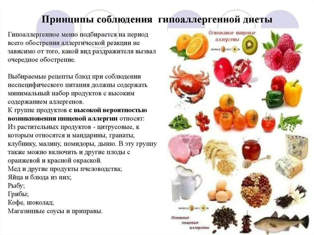 Гипоаллергенная Диета Какие Продукты Можно Есть. Самая правильная диета при аллергии у взрослых, меню на неделю с рецептами