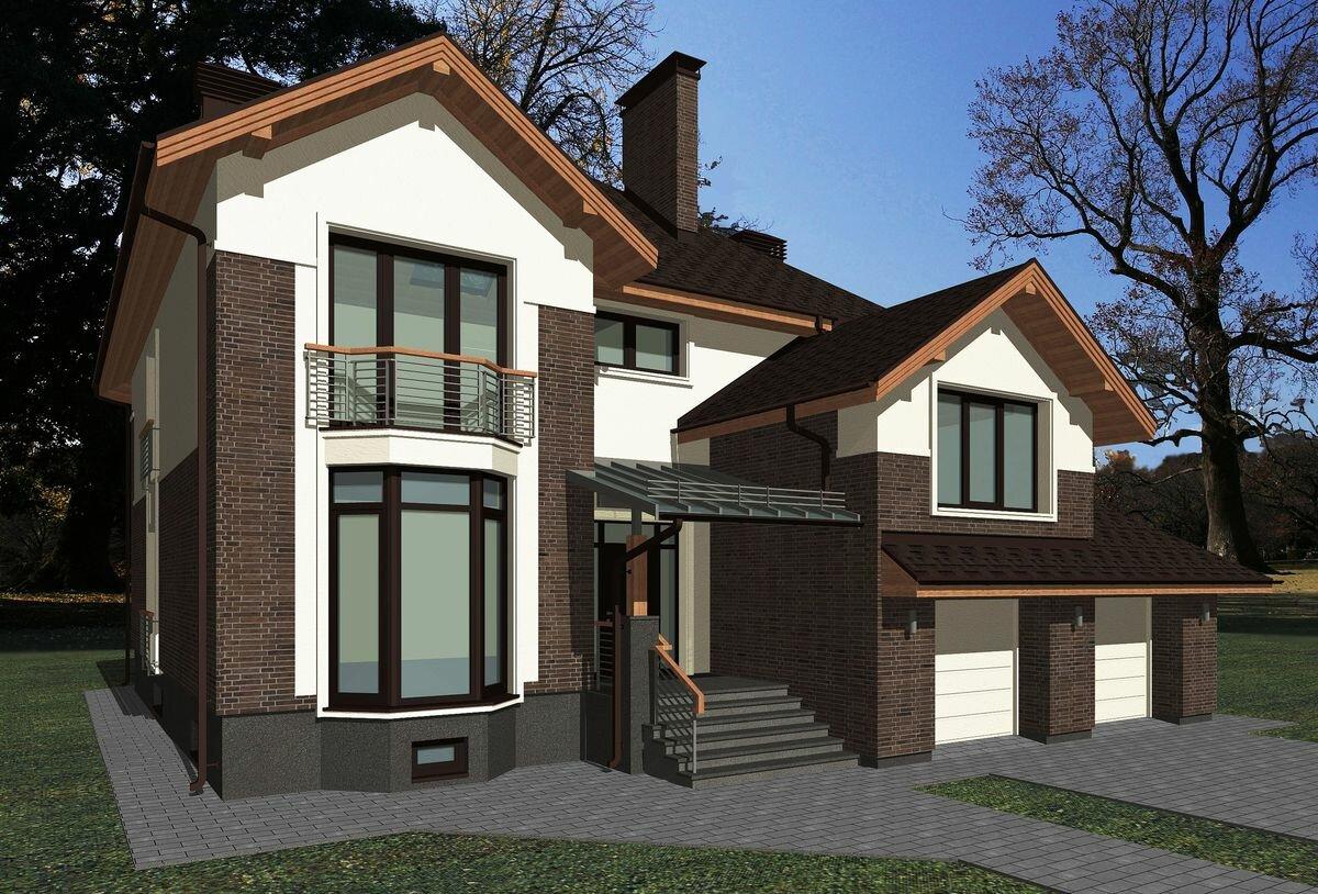 дизайн фасадов загородных домов фото анализ группы вконтакте