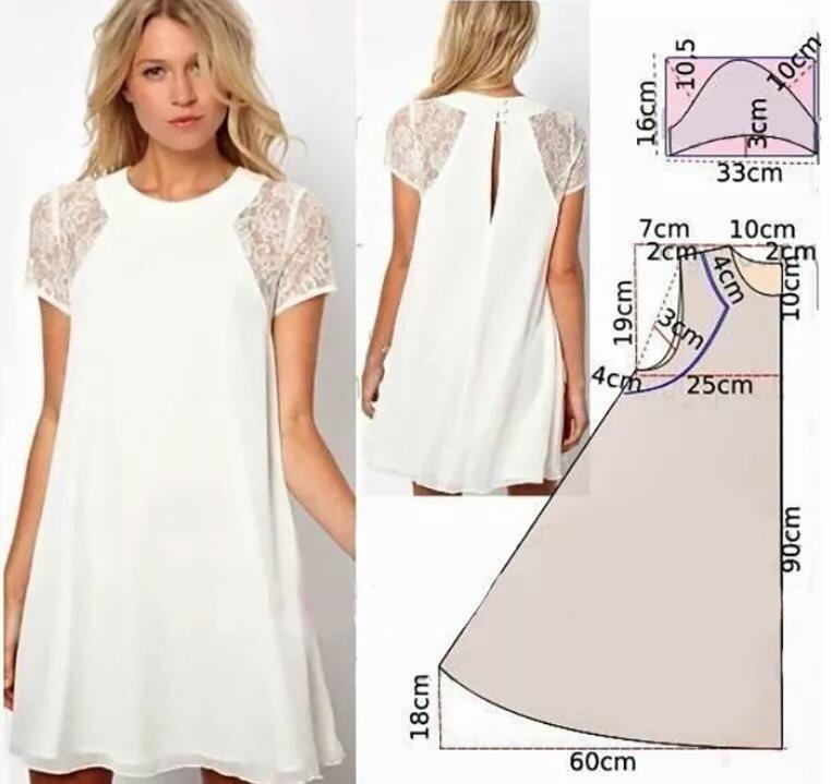 нее платье прямое свободное выкройка шьем с фото может выращиваться приусадебном