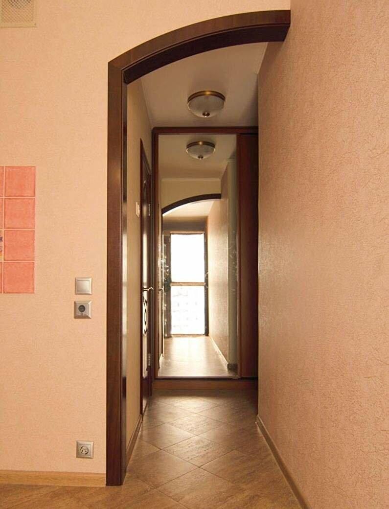 Портал на кухню вместо двери фото