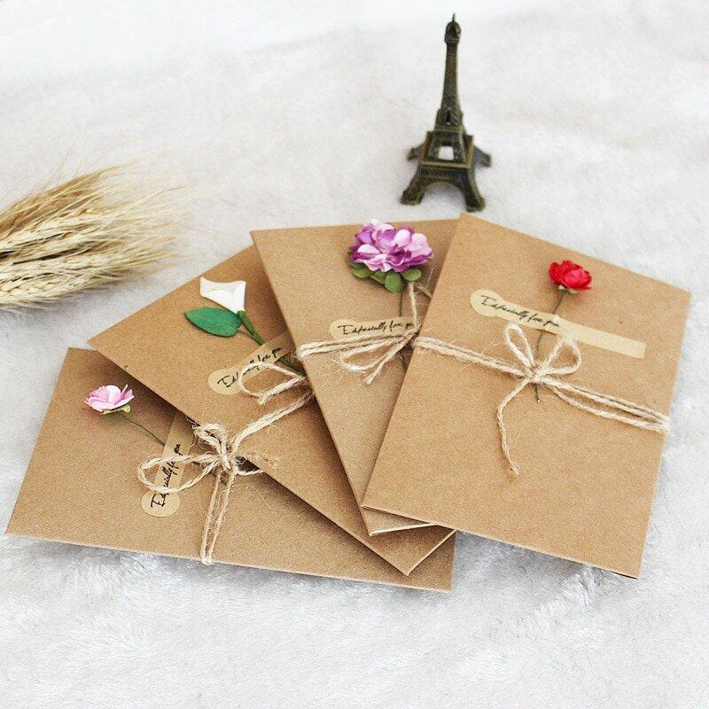Красивая упаковка открытки